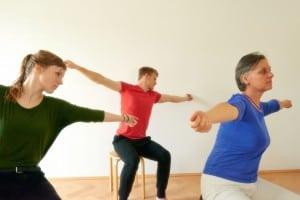 """Lernen in der Gruppe - """"Bewusstheit durch Bewegung"""""""